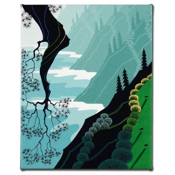 "Larissa Holt ""Coastal Fir"" Limited Edition Giclee on Canvas"