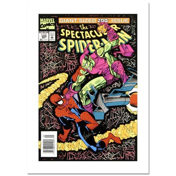 """Stan Lee - Marvel Comics """"Spectacular Spider-Man #200"""" Limited Edition Giclee Canvas"""