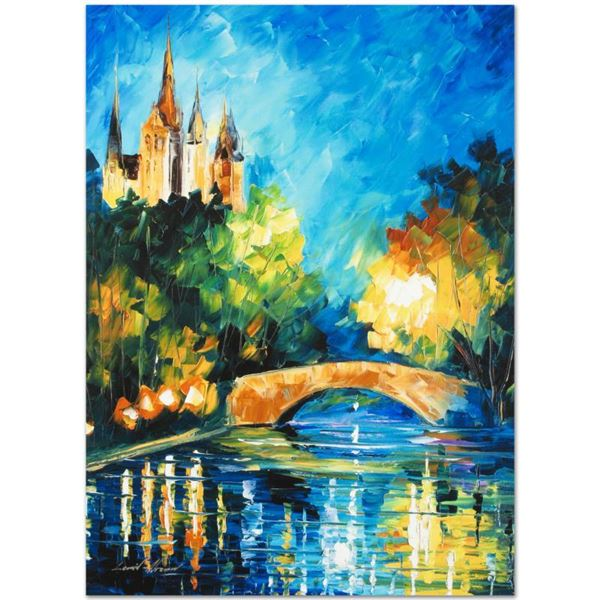 """Afremov (1955-2019) """"Perfect Night"""" Limited Edition Giclee on Canvas"""