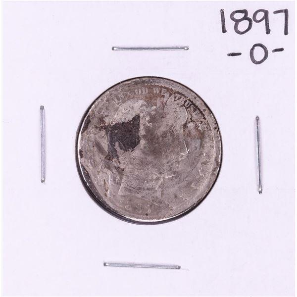 1897-O Barber Quarter Coin