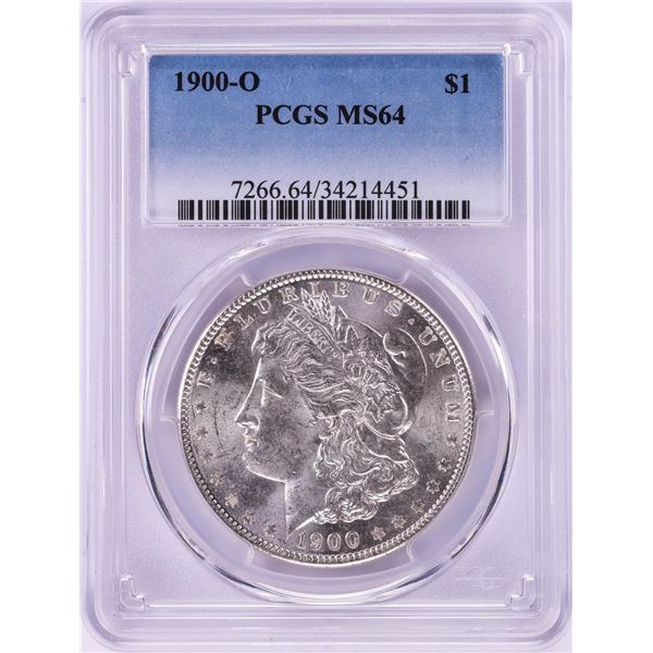 1900-O $1 Morgan Silver Dollar Coin PCGS MS64