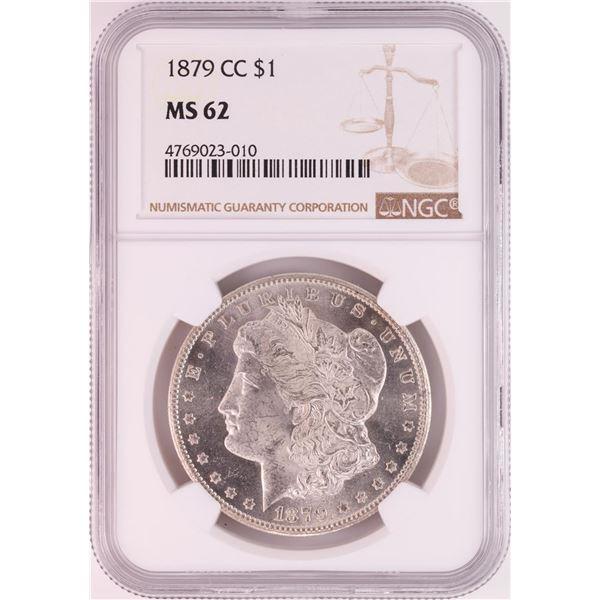 1879-CC $1 Morgan Silver Dollar Coin NGC MS62