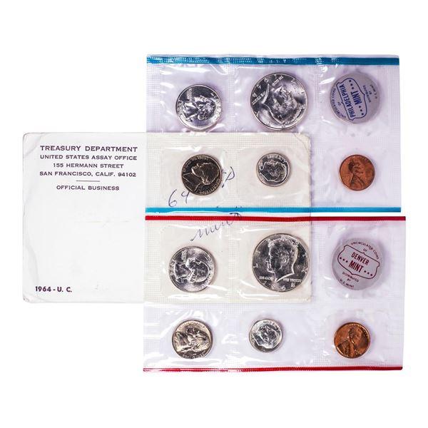 1964 P & D U.S. Double Mint Set