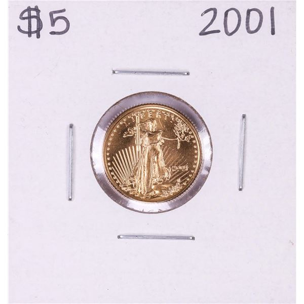 2001 $5 American Eagle Gold Coin