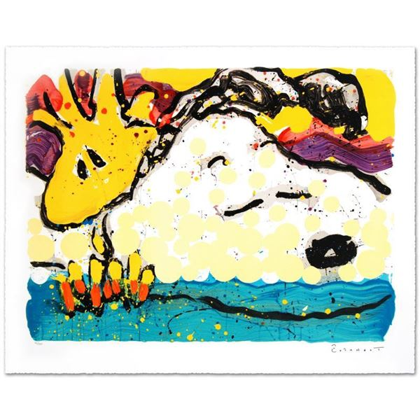 """Tom Everhart """"Bora Bora Boogie Bored"""" Limited Edition Lithograph on Paper"""