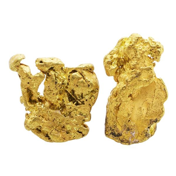 Lot of Gold Nuggets 7.56 Grams Total Weight