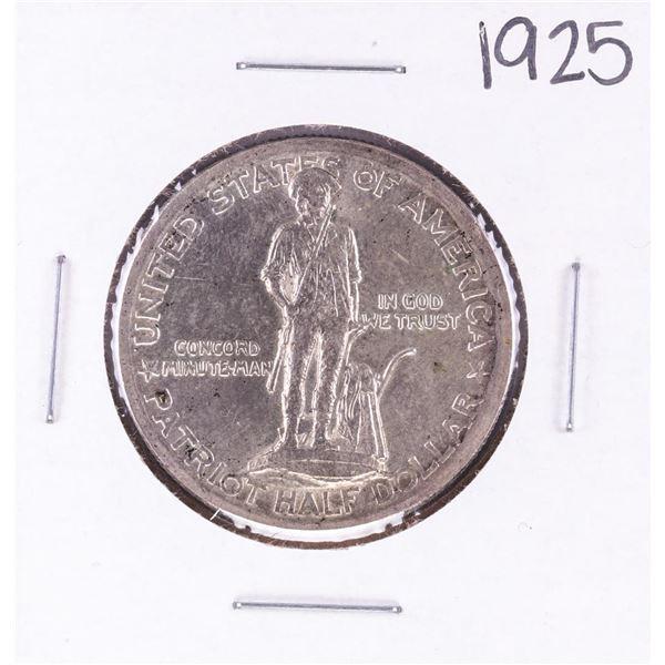 1925 Lexington-Concord Commemorative Half Dollar Coin