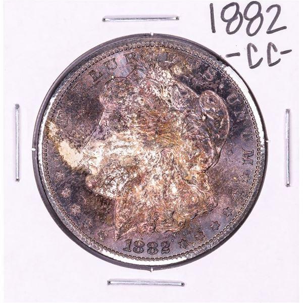 1882-CC $1 Morgan Silver Dollar Coin Nice Toning