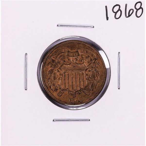 1868 Two Cent Piece Coin