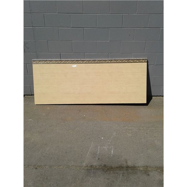 King - Wood Appearance Headboard x1 (Minor Imperfections)