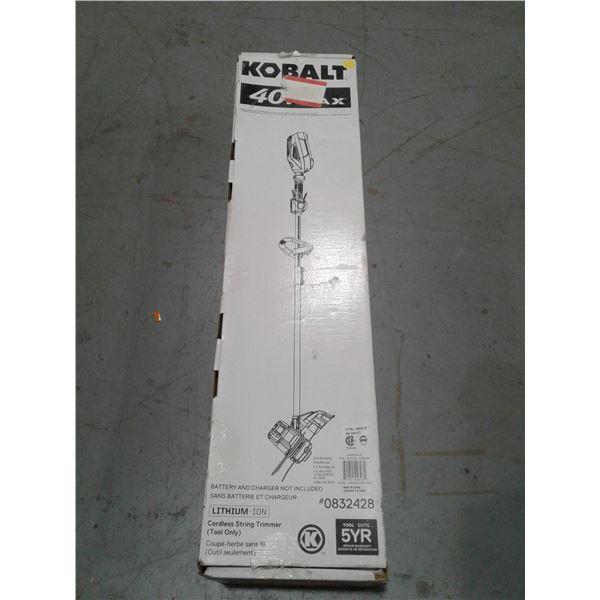 Kobalt 40 V Max Cordless String Trimmer x 1 (Tool Only)