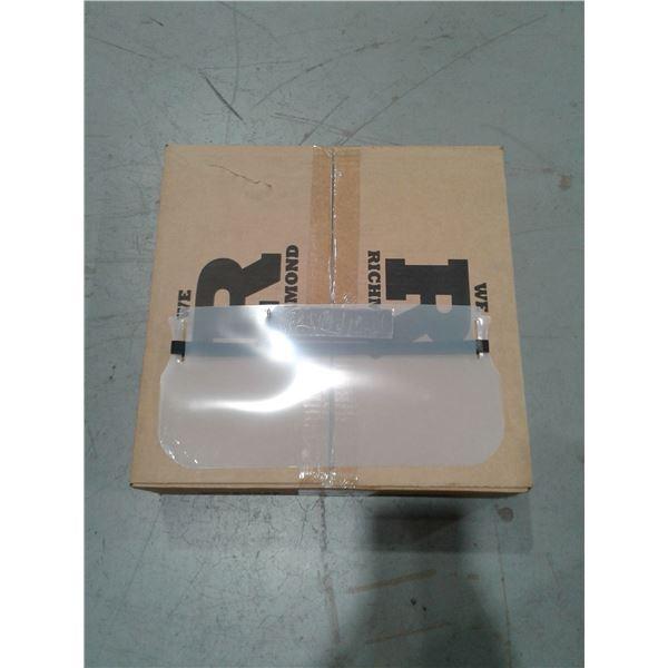 Face shields x 1 Case (50 pcs in a Case)