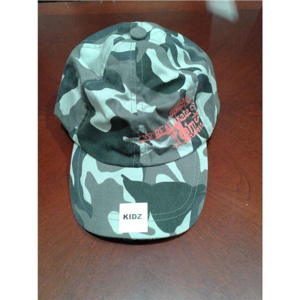 Camo Children's Hat Adjustable Size x 1 Case (48 Pcs in a Case)
