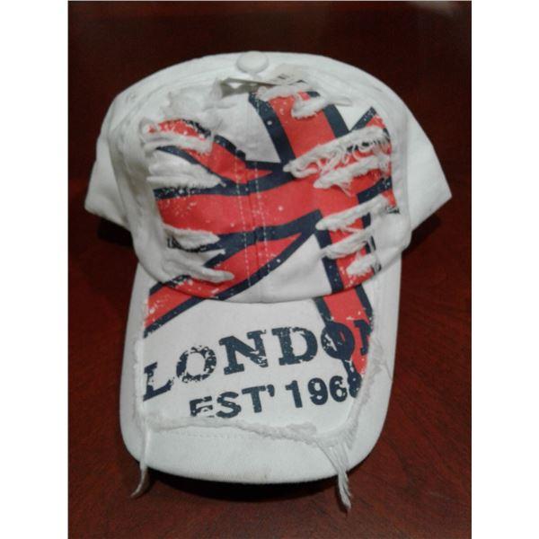 White London Baseball Hat Adjustable Size x 1 Case (50 Pcs in a Case)