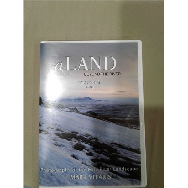 a Land Beyond The River - Winter Views - Photographs of the Milk River Landscape - Mark Vitaris x 1