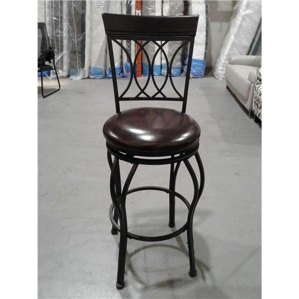 Metal Swivel Bar Seat Cushion Top x 1 pc