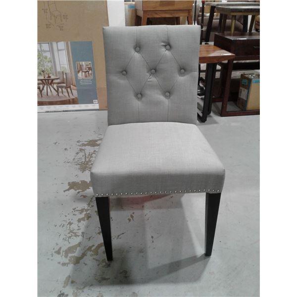 Grey Cushion Chair  x 1