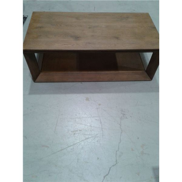 Wood Coffee Table (Minor imperfections) x 1
