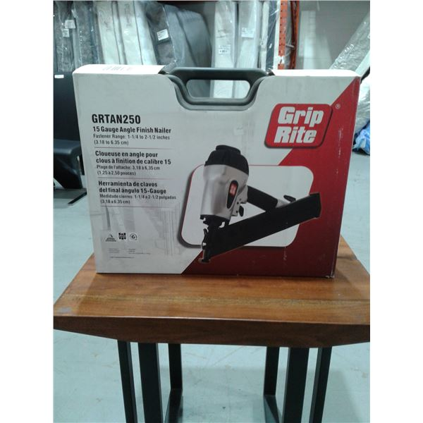 Grip-Rite 2 1/2 Inch x 15 Gauge Angle Finish Nailer (New in box)