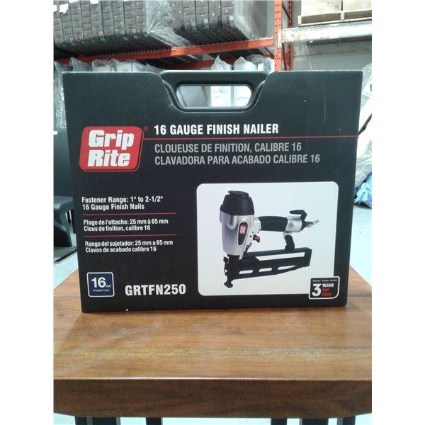 Grip-Rite 2 1/2 Inch x 16 Gauge Finish Nailer (New in box)