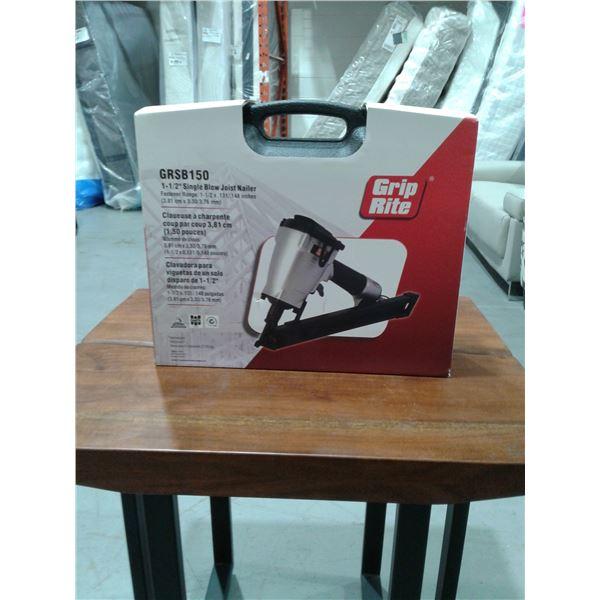 "GRIP-RITE GRSB150 SINGLE BLOW JOIST NAILER 1-1/2"" (New in box)"