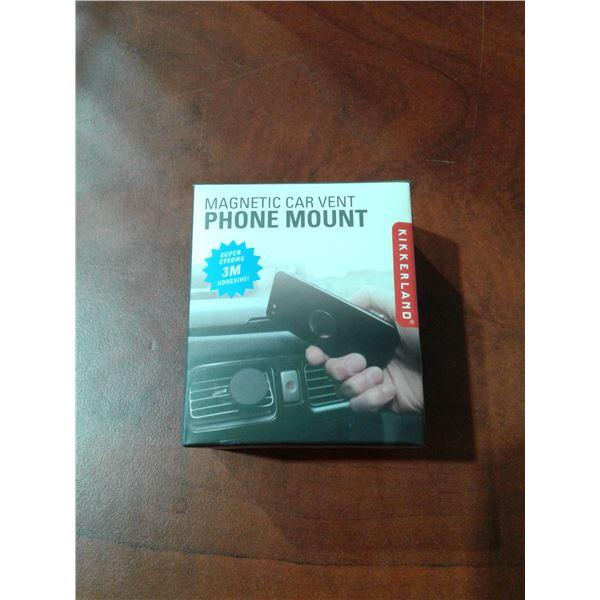 Magnetic Car Vent Phone Mount x 1