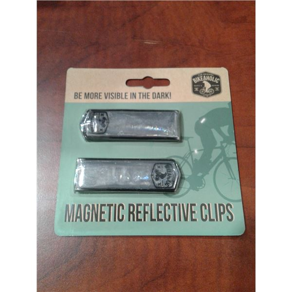 Magnetic Reflective Clips x 1