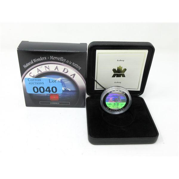 2004 Canada .9999 Silver $20 Hologram Coin