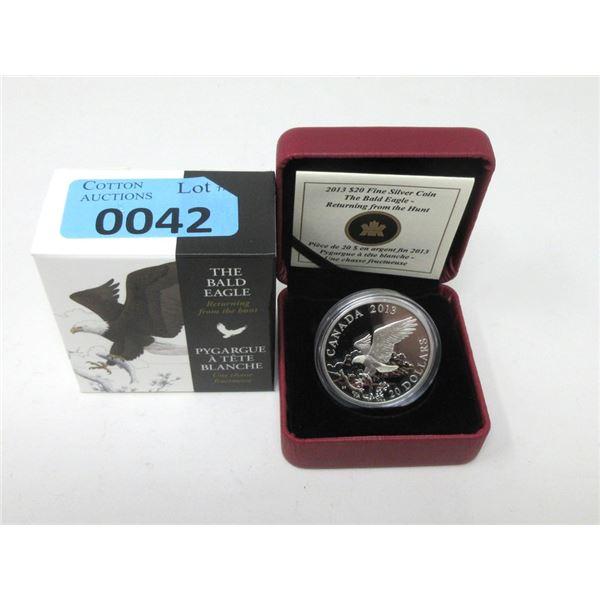 2013 Canada .9999 Silver $20 Coin