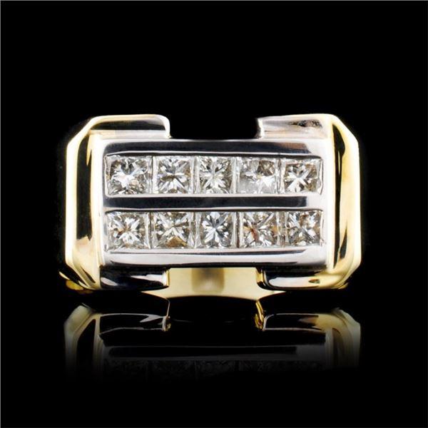 14K Gold 0.70ctw Diamond Ring