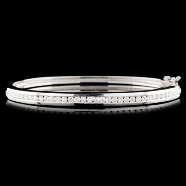 14K Gold 1.46ctw Diamond Bracelet