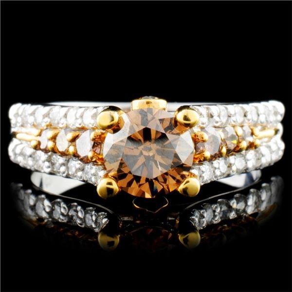 14K Gold 1.64ctw Diamond Ring