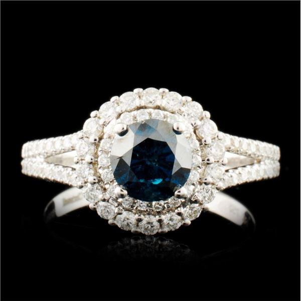 18K Gold 1.31ctw Diamond Ring