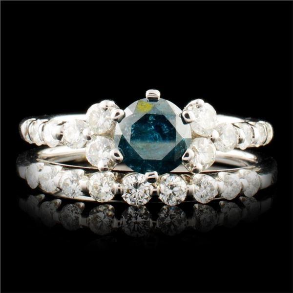 18K Gold 1.52ctw Diamond Ring
