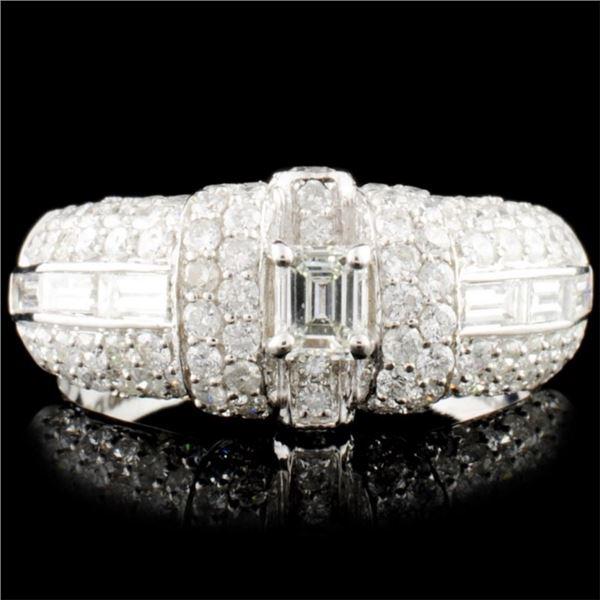 18K Gold 1.62ctw Diamond Ring