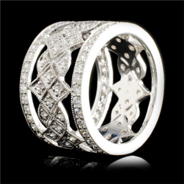 18K Gold 1.30ctw Diamond Ring