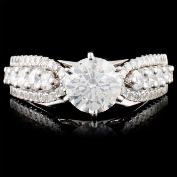 18K Gold 1.83ctw Diamond Ring