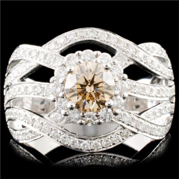 14K Gold 1.53ctw Diamond Ring