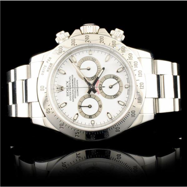Rolex DAYTONA 116520 Stainless Steel 40MM Watch