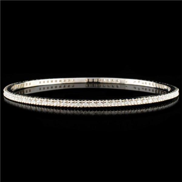 14K Gold 1.87ctw Diamond Bracelet