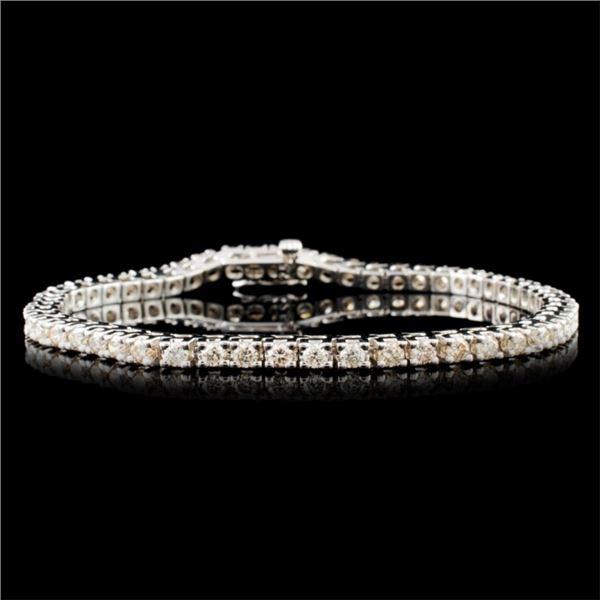 14K Gold 3.57ctw Diamond Bracelet