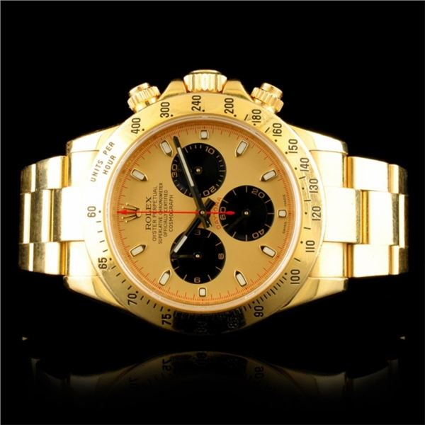 Rolex DAYTONA Paul Newman 18K Gold 40MM Wristwatch