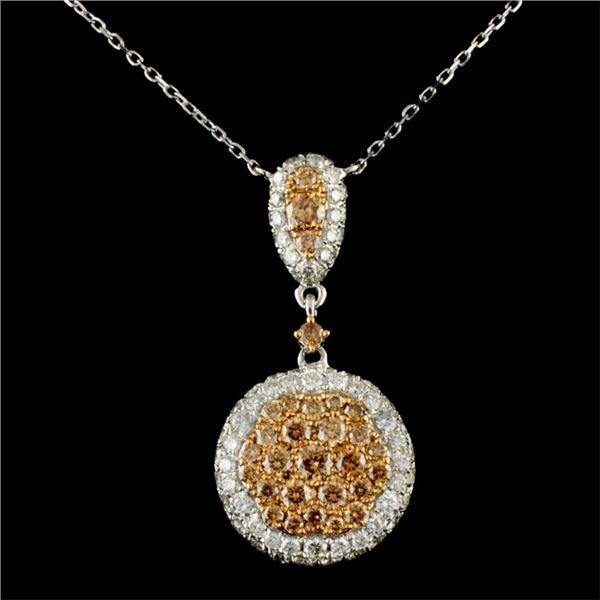 14K Gold 1.90ctw Diamond Necklace