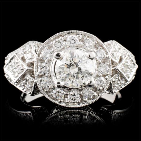 18K Gold 2.06ctw Diamond Ring