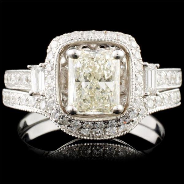 18K Gold 1.65ctw Diamond Ring
