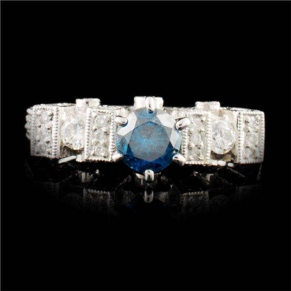 18K Gold 1.26ctw Diamond Ring