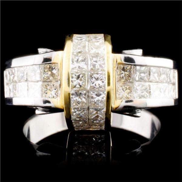 18K Gold 2.01ctw Diamond Ring