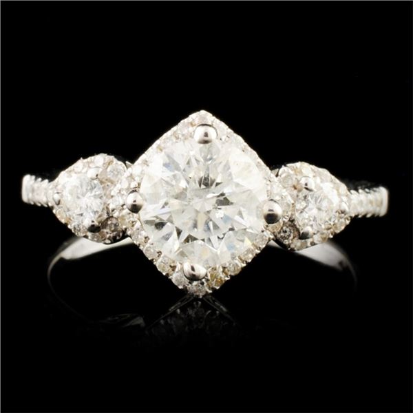 18K Gold 1.40ctw Diamond Ring