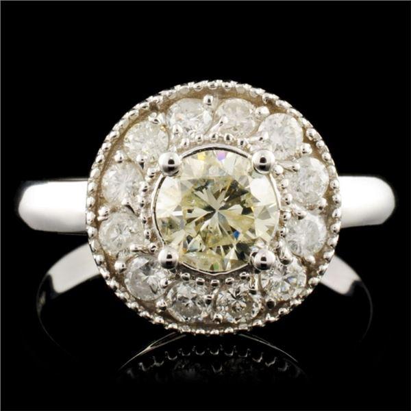 14K Gold 1.25ctw Diamond Ring