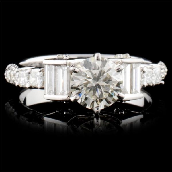 18K Gold 1.64ctw Diamond Ring